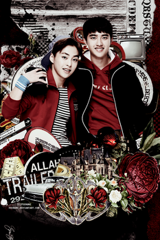 {IPhone 4 4S Wallpaper O2} Xiusoo couple [IvyClub] by FeerGmz