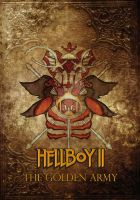 Hellboy dvd cover by The-Path