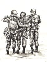 Band of brothers by knyttets