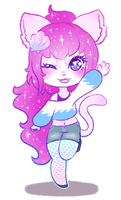 Pagedoll Myu by DoodleBudgie
