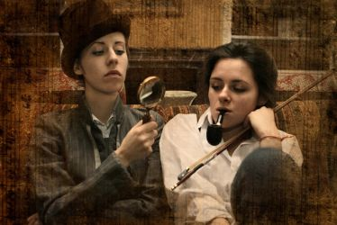 Holmes and Watson cosplay V by MigraineSky