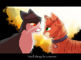 You'll Always Be A Warrior by Lilikoii