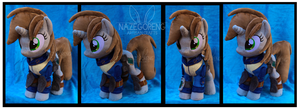 Littlepip Custom Plush by Nazegoreng