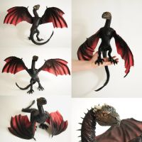 Drogon Game of Thrones by FellKunst