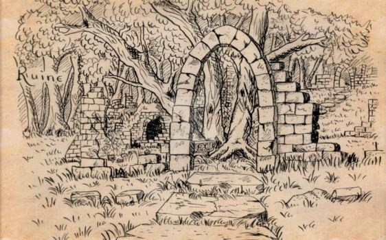 Ruins by Feivelyn
