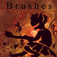 Evil Creatures Brushes by livyer