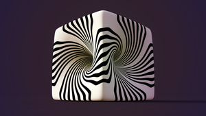 zebra cube by xylomon