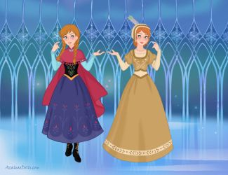 Historically Accurate Disney - Anna by Persinette-Rose