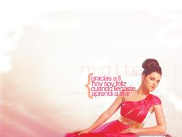 Maite Perroni wallpaper 4 by DetectiveMaya