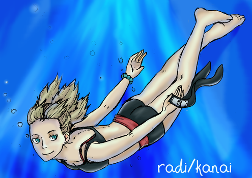 Temari ll Underwater by RadiantLife