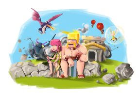 Clash of Clans - Chaos by halie-tee