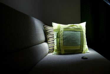 Glowing pillow by bvencel