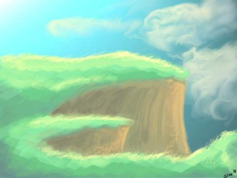 Cliffs Doodle by TheNobody1990
