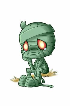 Sad mummy amumu by Awskitee