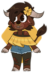 oc ref - tasha the bull by sakurablitz