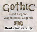 Gothic Die verlorene Legende FAQ Deutsch by Coreyrn