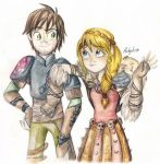 HTTYD2: ''Look, I'm Hiccup and I'm so awesome!'' by Antych