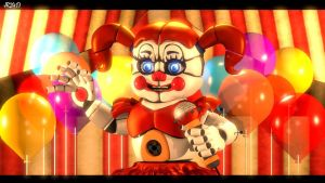 The Only Time She Shined (fnaf sfm) by JR2417