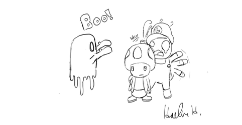 Boo! by TheCrossfollower