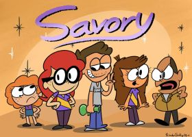 Savory  by rachetcartoons