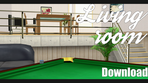  MMD Living Room Download by Dastezi