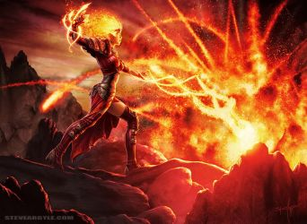 Flames of the Firebrand by SteveArgyle