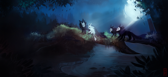 ori and the blind forest by xyGowenxy