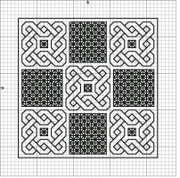 Blackwork Sampler Pattern by DawnMLC