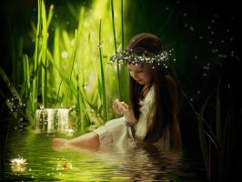 Magical pond by Nataly1st