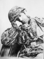 Sleeping soldier by chuckie96