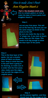How to make Sora's Pants from KHII- Part 1 by Undead-Romance