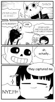 [Comic] Undertale - Install Sans 02 by sorasky05
