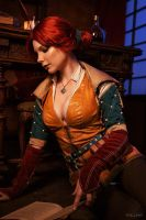 Triss Merigold (The Witcher) by nlare