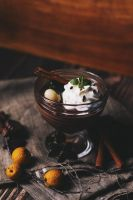 Chocolate mousse by FiorOf