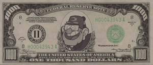 Stan Bucks! by bluevioletowl