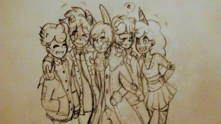 Group Pic!! by Louloucutey