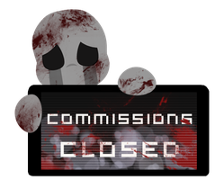 Dead Child Commissions CLOSED Stamp by InkCartoon