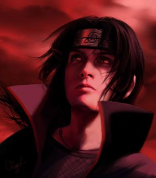Itachi by Olggah