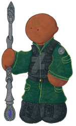Teal'c Plushie by Rana-chan