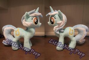 My little pony lyra heartstrings plush(commission) by Little-Broy-Peep