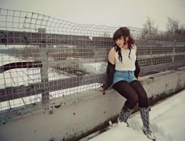 Out In The Cold. by KayleighBPhotography