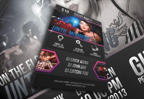 Party and Event Flyer by afizs