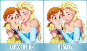 Elsanna Expectation vs Reality by Jeff-Mahadi