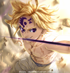 Meliodas | NANATSU NO TAIZAI   by Dragon--anime