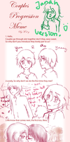 Couple Progression Meme by moonmiracle