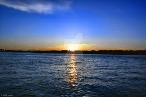 Sunset, Cape Cod Canal part 2 by ibanezrobb