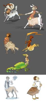 taurs by scrii