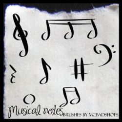 Musical Notes by mcbadshoes