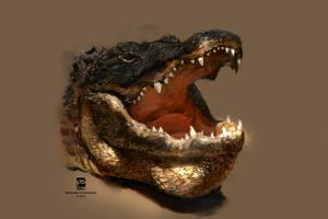20160518 Alligator Psdelux by psdeluxe