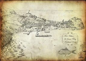 View Of Fort Arthur by GeneralVyse